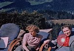 Image of Nazi military officers on Berghof terrace Germany, 1940, second 4 stock footage video 65675048085