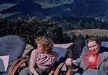 Image of Nazi military officers on Berghof terrace Germany, 1940, second 5 stock footage video 65675048085