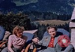 Image of Nazi military officers on Berghof terrace Germany, 1940, second 6 stock footage video 65675048085
