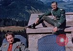 Image of Nazi military officers on Berghof terrace Germany, 1940, second 9 stock footage video 65675048085