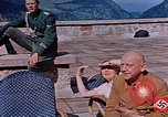 Image of Nazi military officers on Berghof terrace Germany, 1940, second 12 stock footage video 65675048085