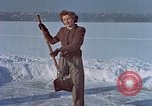 Image of Eva Braun ice skating Germany, 1940, second 1 stock footage video 65675048101