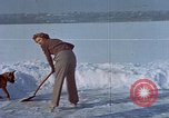 Image of Eva Braun ice skating Germany, 1940, second 8 stock footage video 65675048101