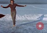 Image of Eva Braun ice skating Germany, 1940, second 12 stock footage video 65675048101