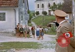 Image of Adolf Hitler visits his childhood school Fischlham Austria, 1938, second 11 stock footage video 65675048103