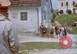 Image of Adolf Hitler visits his childhood school Fischlham Austria, 1938, second 12 stock footage video 65675048103