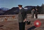 Image of Adolf Hitler at the Berghof Bavaria Germany, 1940, second 9 stock footage video 65675048104