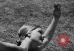 Image of calisthenics at 1936 Olympics opening ceremony Berlin Germany, 1936, second 5 stock footage video 65675048120