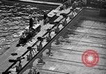 Image of 1936 Olympics Womens 100 meter swim Berlin Germany, 1936, second 4 stock footage video 65675048130