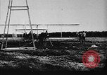 Image of First public demonstration of Wright Brothers airplane  Le Mans France, 1908, second 5 stock footage video 65675048142