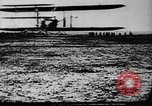 Image of First public demonstration of Wright Brothers airplane  Le Mans France, 1908, second 9 stock footage video 65675048142