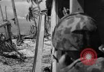 Image of American marines Tarawa Gilbert Islands, 1943, second 1 stock footage video 65675048149