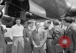 Image of Trans World airlines Lockheed Constelleation Burbank California USA, 1943, second 2 stock footage video 65675048164