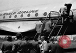 Image of Trans World Airlines Constellation Burbank California USA, 1943, second 2 stock footage video 65675048167
