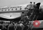 Image of Trans World Airlines Constellation Burbank California USA, 1943, second 6 stock footage video 65675048167