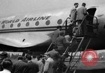 Image of Trans World Airlines Constellation Burbank California USA, 1943, second 7 stock footage video 65675048167