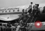 Image of Trans World Airlines Constellation Burbank California USA, 1943, second 8 stock footage video 65675048167
