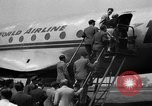 Image of Trans World Airlines Constellation Burbank California USA, 1943, second 10 stock footage video 65675048167