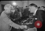 Image of Howard Hughes arrives in Douglas B-23 Dragon aircraft Washington DC USA, 1947, second 6 stock footage video 65675048172