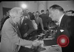 Image of Howard Hughes arrives in Douglas B-23 Dragon aircraft Washington DC USA, 1947, second 7 stock footage video 65675048172