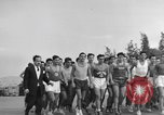 Image of Runners Athens Greece Syntagma Square, 1947, second 3 stock footage video 65675048178