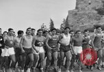Image of Runners Athens Greece Syntagma Square, 1947, second 4 stock footage video 65675048178