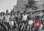 Image of Runners Athens Greece Syntagma Square, 1947, second 5 stock footage video 65675048178