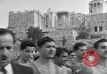 Image of Runners Athens Greece Syntagma Square, 1947, second 7 stock footage video 65675048178