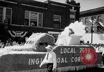 Image of Labor Day parade Princeton Indiana USA, 1947, second 8 stock footage video 65675048196