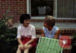 Image of backyard barbecue Goldsboro North Carolina USA, 1966, second 2 stock footage video 65675048198