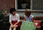 Image of backyard barbecue Goldsboro North Carolina USA, 1966, second 3 stock footage video 65675048198
