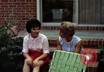 Image of backyard barbecue Goldsboro North Carolina USA, 1966, second 5 stock footage video 65675048198