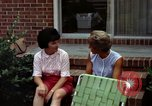 Image of backyard barbecue Goldsboro North Carolina USA, 1966, second 7 stock footage video 65675048198
