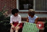 Image of backyard barbecue Goldsboro North Carolina USA, 1966, second 8 stock footage video 65675048198