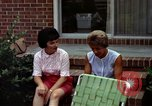 Image of backyard barbecue Goldsboro North Carolina USA, 1966, second 9 stock footage video 65675048198