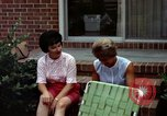 Image of backyard barbecue Goldsboro North Carolina USA, 1966, second 11 stock footage video 65675048198