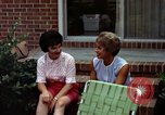 Image of backyard barbecue Goldsboro North Carolina USA, 1966, second 12 stock footage video 65675048198