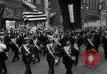 Image of Labor Day parade New York City USA, 1918, second 12 stock footage video 65675048216