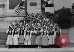 Image of Lithuanian singers Washington DC USA, 1918, second 2 stock footage video 65675048218