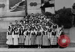 Image of Lithuanian singers Washington DC USA, 1918, second 4 stock footage video 65675048218