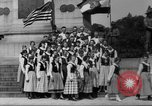 Image of Lithuanian singers Washington DC USA, 1918, second 8 stock footage video 65675048218