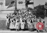Image of Lithuanian singers Washington DC USA, 1918, second 10 stock footage video 65675048218