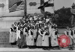 Image of Lithuanian singers Washington DC USA, 1918, second 11 stock footage video 65675048218