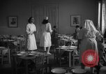 Image of communal kitchen Barcelona Spain, 1942, second 5 stock footage video 65675048274