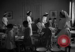 Image of communal kitchen Barcelona Spain, 1942, second 8 stock footage video 65675048274