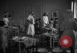 Image of communal kitchen Barcelona Spain, 1942, second 11 stock footage video 65675048274
