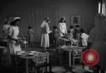 Image of communal kitchen Barcelona Spain, 1942, second 12 stock footage video 65675048274