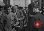 Image of bread being distributed to workers Barcelona Spain, 1942, second 11 stock footage video 65675048275