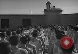 Image of prisoners engage in formal athletic activities Valencia Spain, 1942, second 3 stock footage video 65675048277