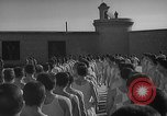 Image of prisoners engage in formal athletic activities Valencia Spain, 1942, second 4 stock footage video 65675048277